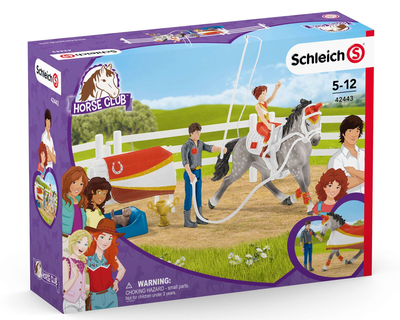 42443 Schleich Horse Club - Mia's vaulting riding set