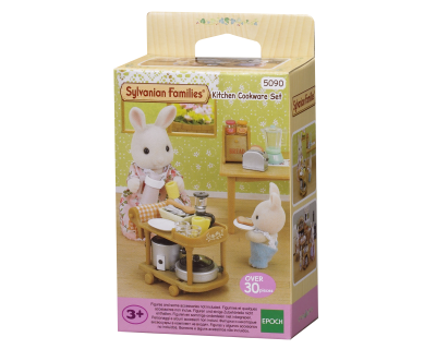 5090 Sylvanian Families - Kitchen Cookware Set