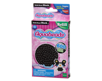 Aquabeads Parels - Solid Bead black