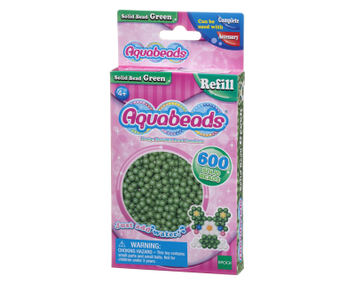 32548 Aquabeads Parels - Solid Bead Green