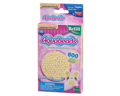 Aquabeads Parels - Solid Bead Ivory