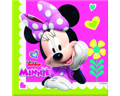 Minnie Mouse Feest happy servetten
