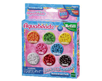 79168 Aquabeads - Solid Bead Pack