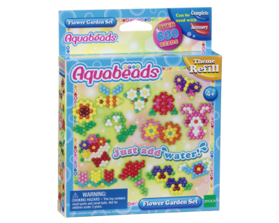 31088 Aquabeads Navulling - Flower Garden Set