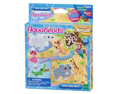 Aquabeads Navulling - Zoo Life Set
