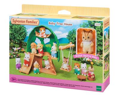 De Magische Boomhut : Sylvanian families baby boomhut time toys speelgoed