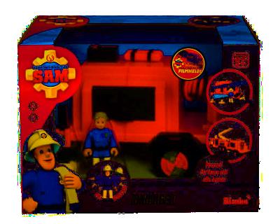 Top Brandweerman Sam aanhanger met Figuur | Time4Toys.nl - Speelgoed #LE53