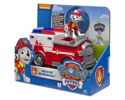 Paw Patrol Slaapkamer : Paw patrol action marshall s fire fighting time toys